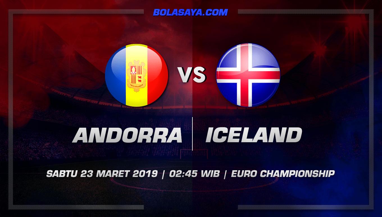 Prediksi Taruhan Bola Andorra vs Iceland 23 Maret 2019