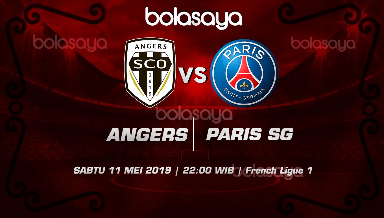 Prediksi Taruhan Bola Angers vs Paris SG 11 Mei 2019