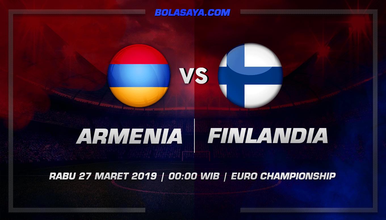 Prediksi Taruhan Bola Armenia vs Finlandia 27 Maret 2019