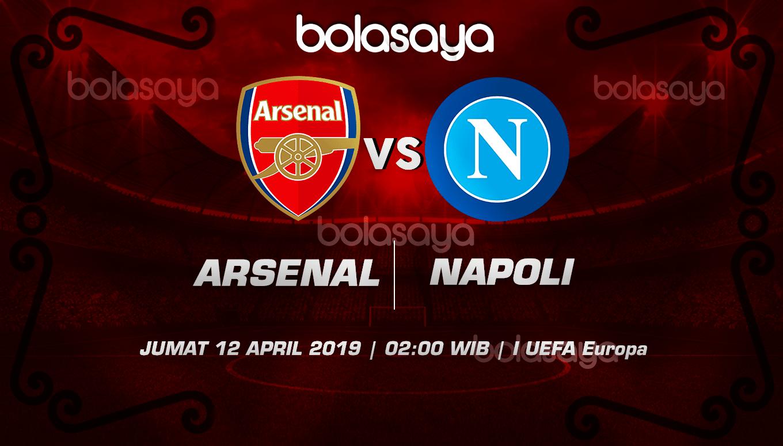 Prediksi Taruhan Bola Arsenal vs Napoli 12 April 2019