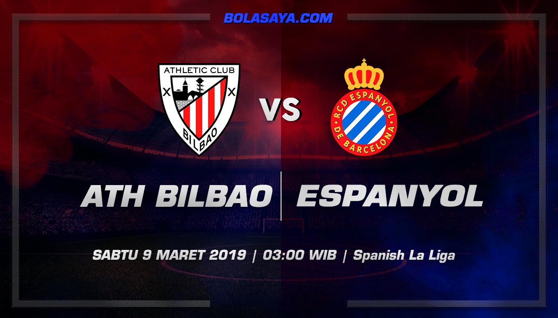 Prediksi Taruhan Bola Ath. Bilbao vs Espanyol  9 Maret 2019