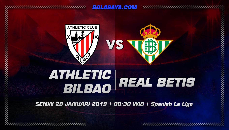 Prediksi Taruhan Bola Athletic Bilbao vs Real Betis 28 Januari 2019