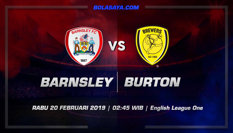 Prediksi Taruhan Bola Barnsley vs Burton Albion 20 Februari 2019
