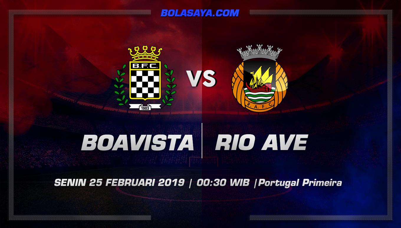 Prediksi Taruhan Bola Boavista vs Rio Ave 25 Februari 2019