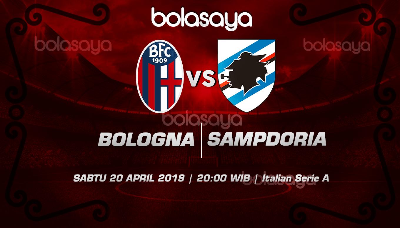 Prediksi Taruhan Bola Bologna vs Sampdoria 20 April 2019