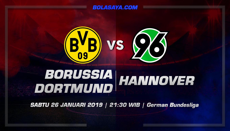 Prediksi Taruhan Bola Borussia Dortmunt vs Hannover 26 Januari 2019