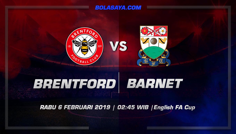 Prediksi Taruhan Bola Brentford vs Barnet 6 Februari 2019