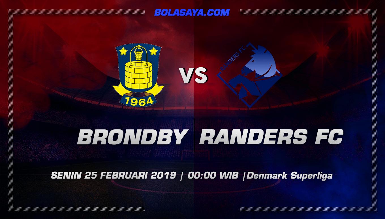 Prediksi Taruhan Bola Brondby vs Randers 25 Februari 2019