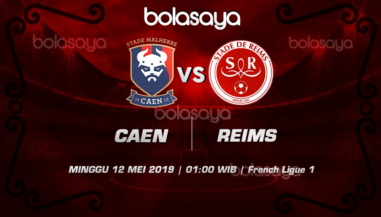 Prediksi Taruhan Bola Caen Vs Reims 12 Mei 2019