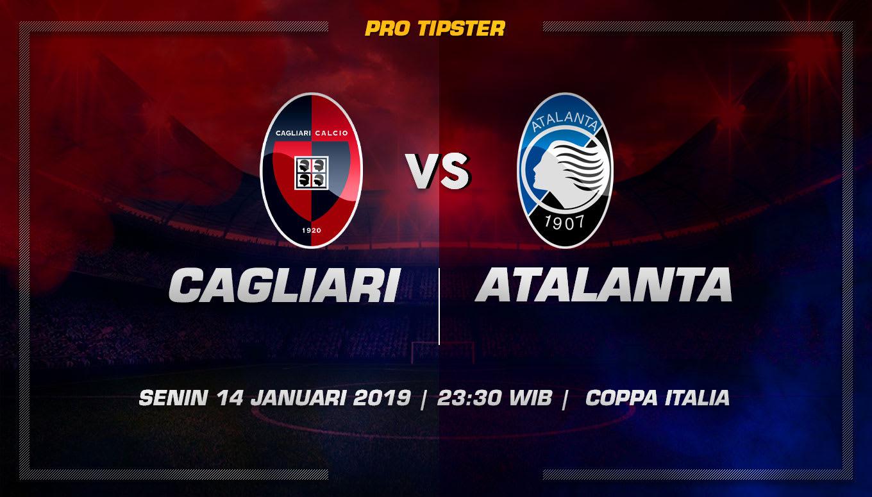 Prediksi Taruhan Bola Cagliari vs Atalanta 14 Januari 2019