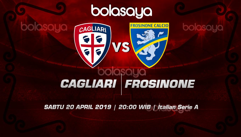 Prediksi Taruhan Bola Cagliari vs Frosinone 20 April 2019