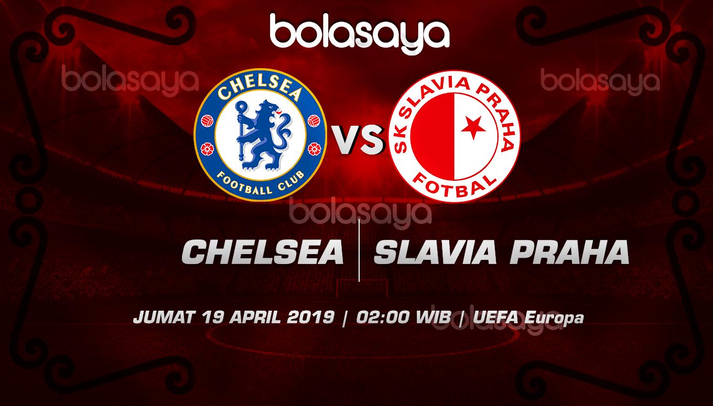 Prediksi Taruhan Bola Chelsea vs Slavia Prague 19 April 2019