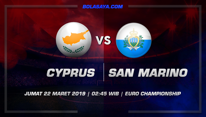 Prediksi Taruhan Bola Cyprus vs San Marino 22 Maret 2019