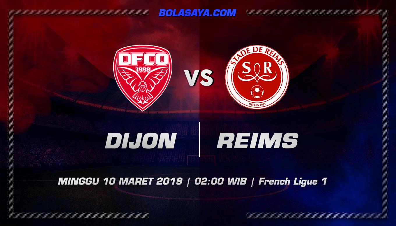 Prediksi Taruhan Bola Dijon vs Stade de Reims 10 Maret 2019