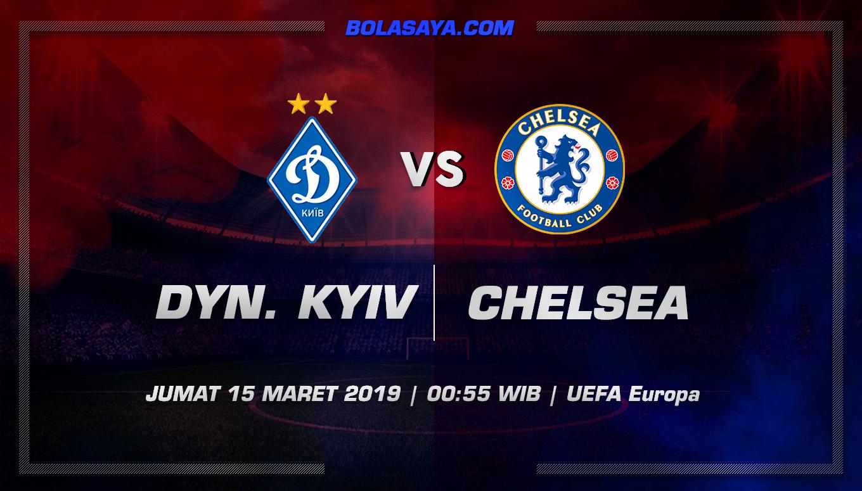 Prediksi Taruhan Bola Dinamo Kiev vs Chelsea 15 Maret 2019