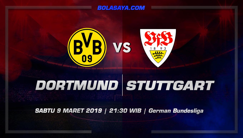 Prediksi Taruhan Bola Dortmund vs Stuttgart 9 Maret 2019