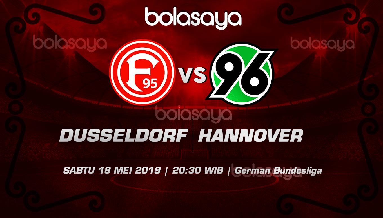 Prediksi Taruhan Bola Dusseldorf vs Hannover 18 Mei 2019