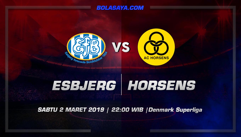 Prediksi Taruhan Bola Esbjerg vs Horsens 2 Maret 2019
