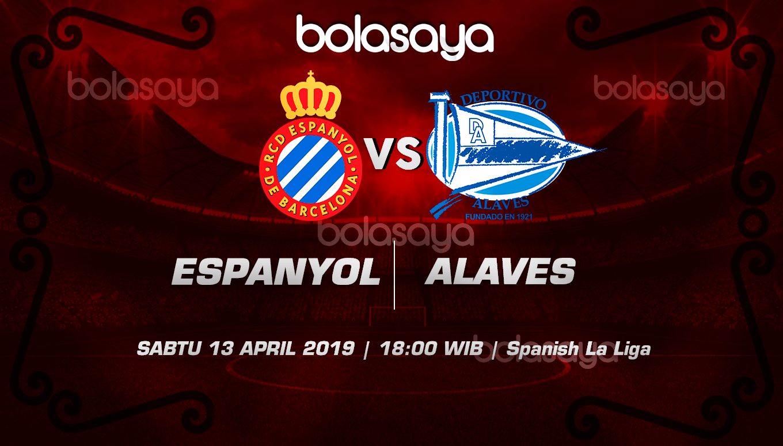Prediksi Taruhan Bola Espanyol vs Alaves 13 April 2019