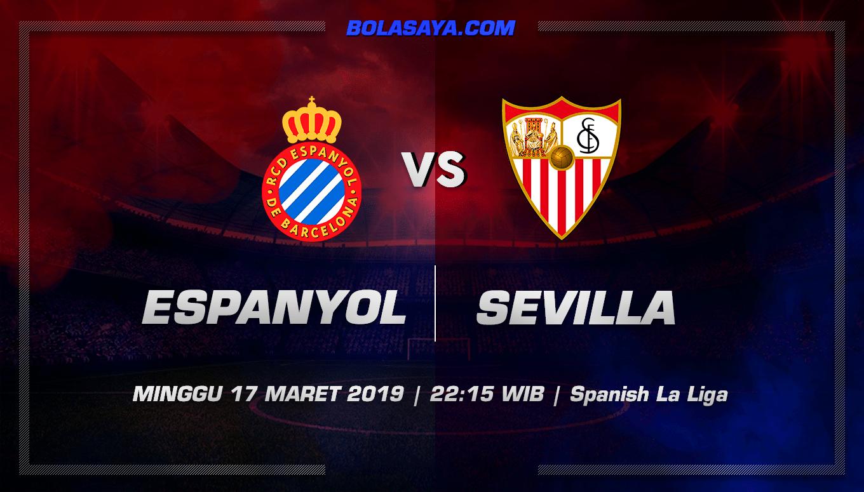 Prediksi Taruhan Bola Espanyol vs Sevilla 17 Maret 2019