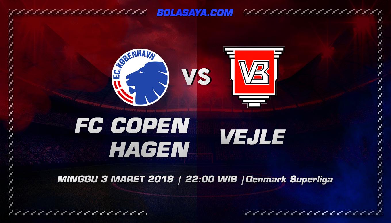 Prediksi Taruhan Bola FC Copenhagen vs Vejle 3 Maret 2019