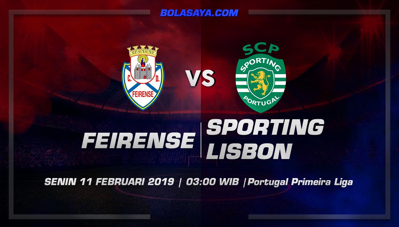 Prediksi Taruhan Bola Feirense vs Sporting Lisbon 11 Februari 2019