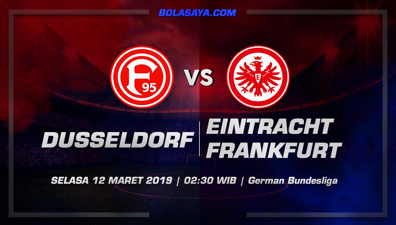 Prediksi Taruhan Bola Fortuna Dusseldorf vs Frankfurt  12 Maret 2019