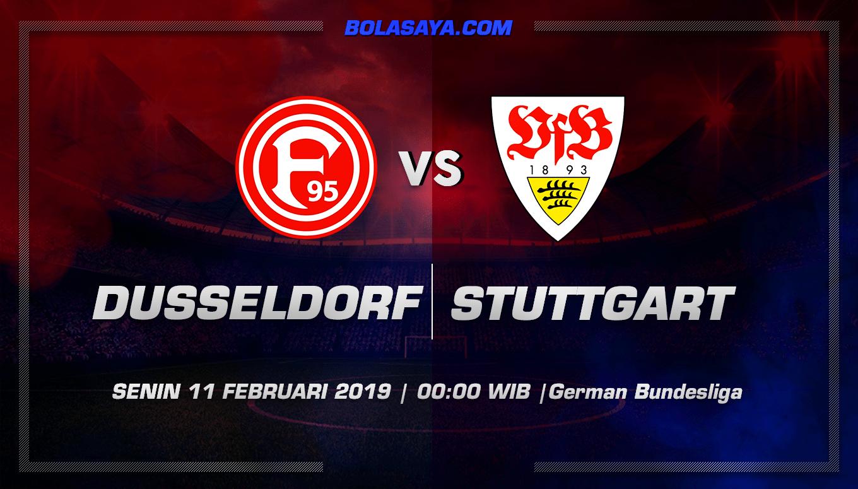 Prediksi Taruhan Bola Fortuna Dusseldorf vs Stuttgar 11 Februari 2019