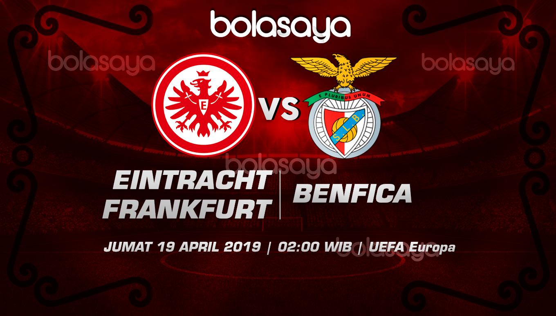 Prediksi Taruhan Bola Frankfurt vs Benfica 19 April 2019