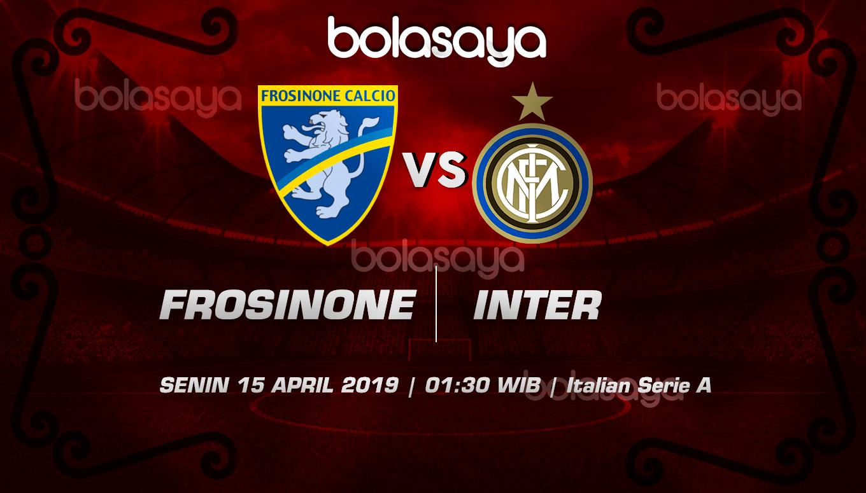 Prediksi Taruhan Bola Frosinone vs Inter Milan 15 April 2019
