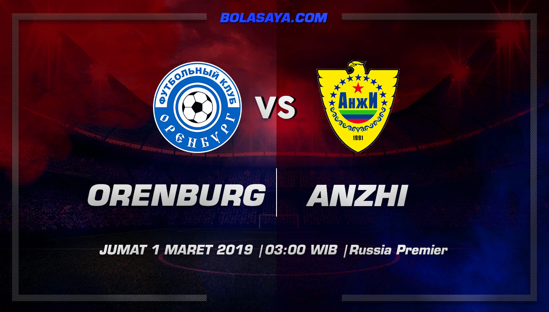 Prediksi Taruhan Bola Gazovik Orenburg vs Anzhi Makhachkala 1 Maret 2019