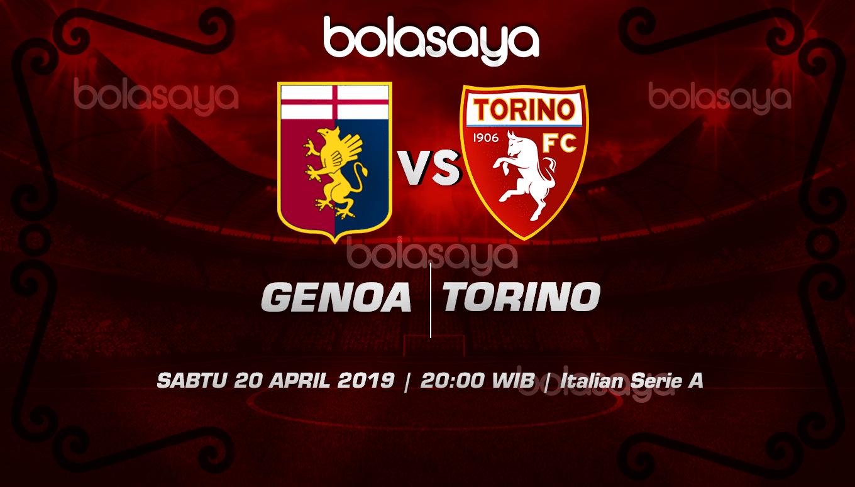 Prediksi Taruhan Bola Genoa vs Torino 20 April 2019