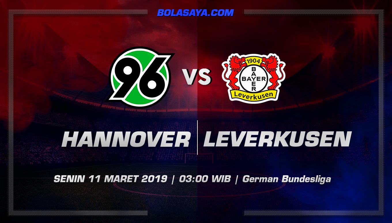 Prediksi Taruhan Bola Hannover vs Leverkusen 11 Maret 2019