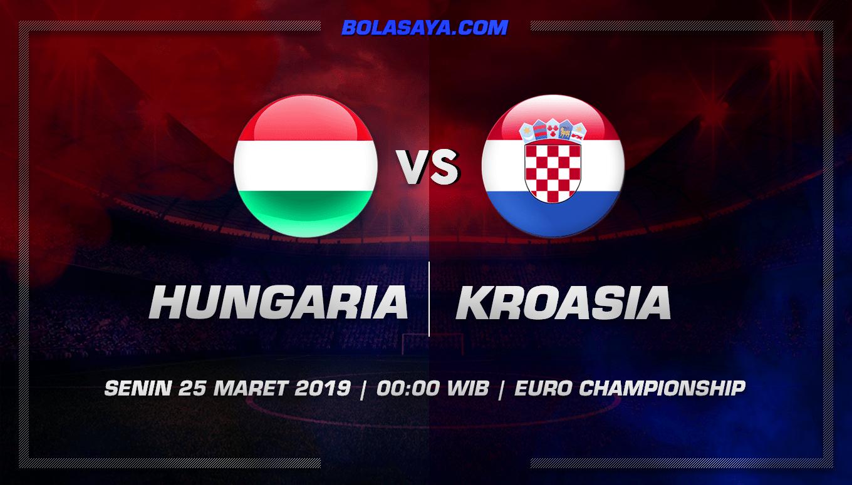 Prediksi Taruhan Bola Hungaria vs Kroasia 25 Maret 2019