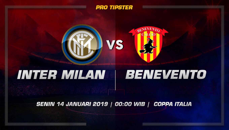 Prediksi Taruhan Bola Inter Milan VS Benevento 14 Januari 2019