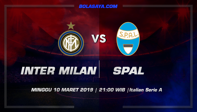 Prediksi Taruhan Bola Inter Milan vs Spal 10 Maret 2019