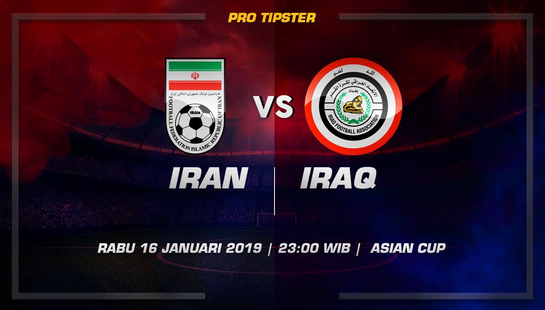Prediksi Taruhan Bola Iran VS Iraq 16 Januari 2019