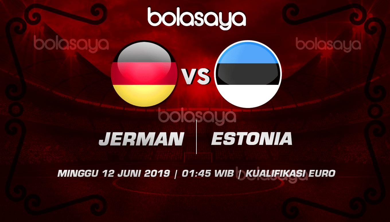 Prediksi Taruhan Bola Jerman vs Estonia 12 Juni 2019