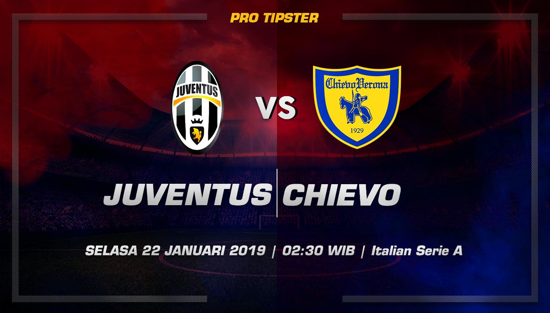 Prediksi Taruhan Bola Juventus Vs Chievo 22 Januari 2019