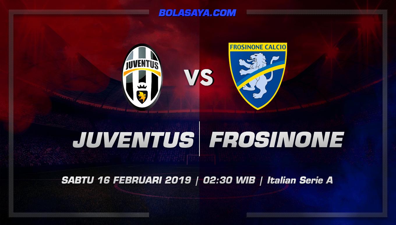 Prediksi Taruhan Bola Juventus vs Frosinone 16 Februari 2019