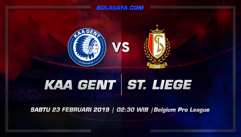 Prediksi Taruhan Bola KAA Gent vs Standard Liege 23 Februari 2019