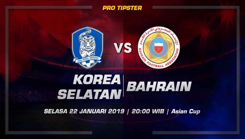 Prediksi Taruhan Bola Korea Selatan vs Bahrain 22 Januari 2019