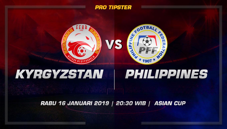 Prediksi Taruhan Bola Kyrgyzstan vs Philippines 16 Januari 2019