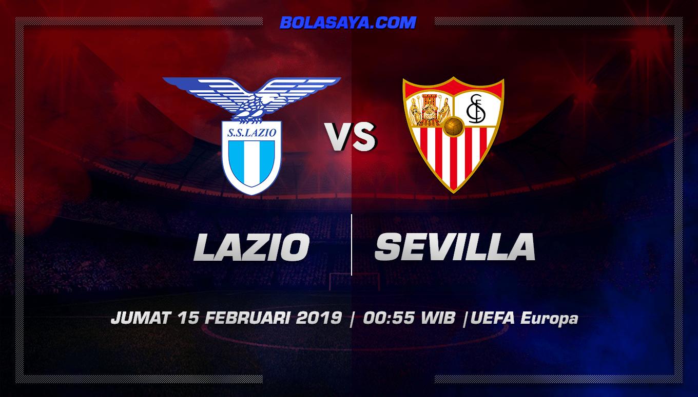 Prediksi Taruhan Bola Lazio vs Sevilla 15 Februari 2019