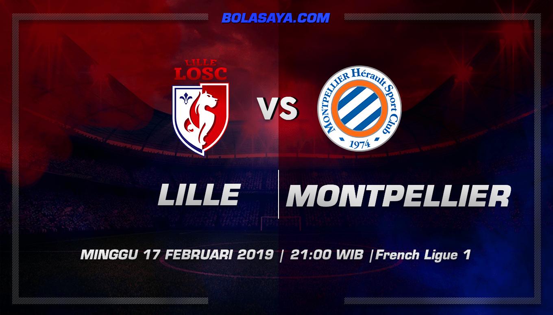 Prediksi Taruhan Bola Lille vs Montpellier 17 Februari 2017