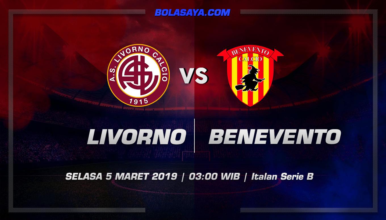 Prediksi Taruhan Bola Livorno vs Benevento 5 Maret 2019