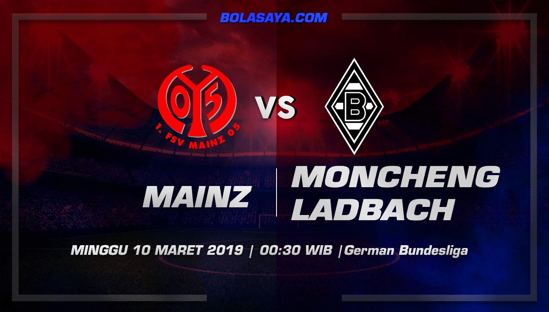 Prediksi Taruhan Bola Mainz vs Borussia Monchengladbach 10 Maret 2019