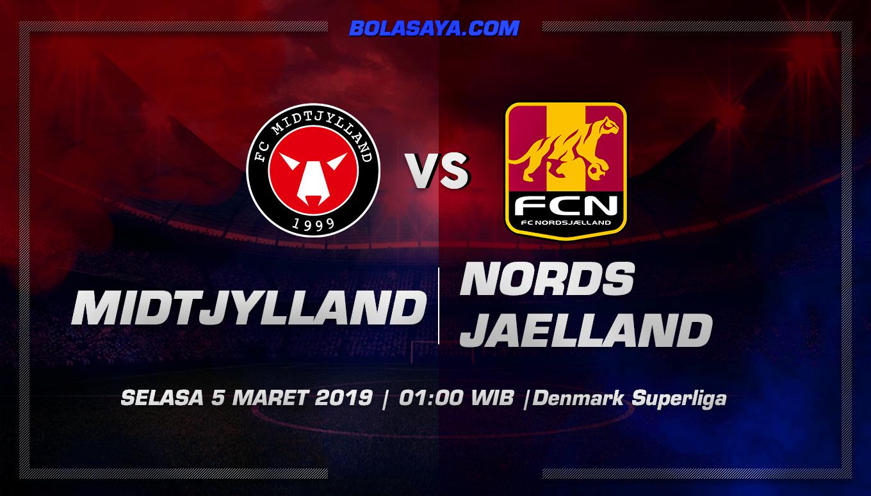 Prediksi Taruhan Bola Midtjylland vs Nordsjaelland 5 Maret 2019