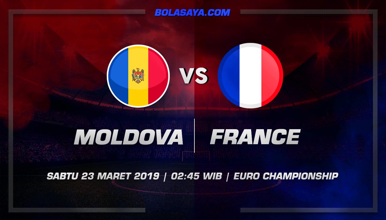 Prediksi Taruhan Bola Moldova vs France 23 Maret 2019