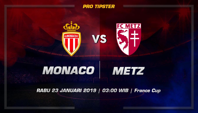 Prediksi Taruhan Bola Monaco Vs Metz 23 Januari 2019